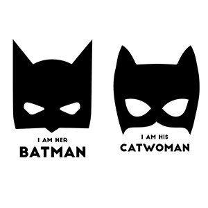Couple hoodies I'm her batman