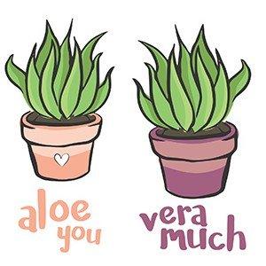 Couple hoodies Aloe you