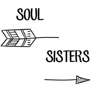 Friends hoodie Soul sister