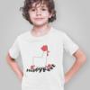 Kids graphic tees Happy feet