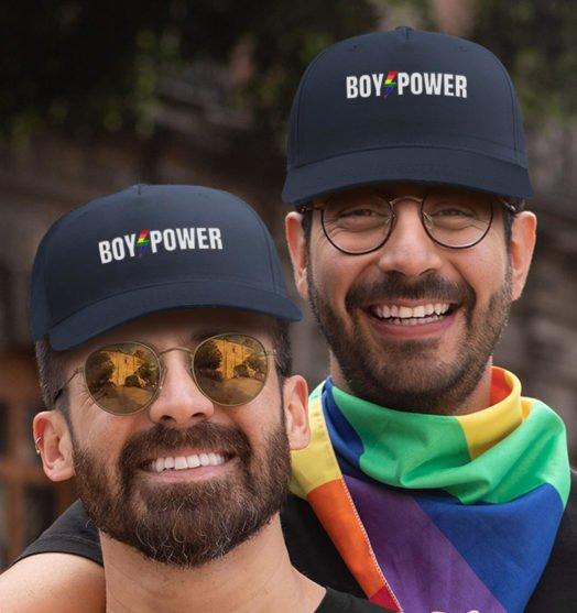 Same sex caps Boy power