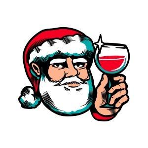 Men graphic tees Cheers Santa