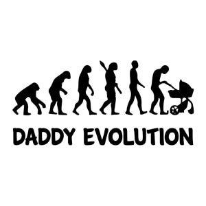Men graphic tees Daddy evolution