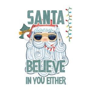 Men graphic tees Santa