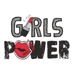 Women graphic tees Girls power