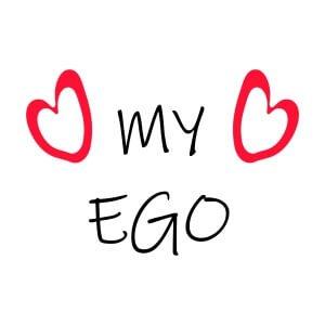 Women graphic tees My ego