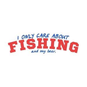 Men sweatshirts Only care fishing