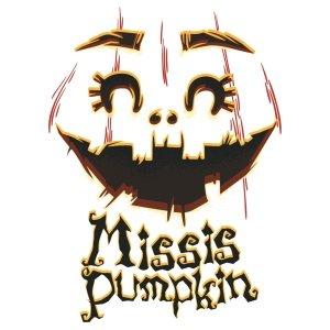 Short sleeve women t shirts Missis pumpkin
