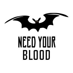 Short sleeve women t shirts Need blood