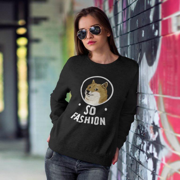 Long sleeve women sweatshirts with print So fashion
