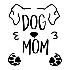 women graphic cap Dog mom