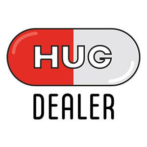 women graphic cap Hug dealer