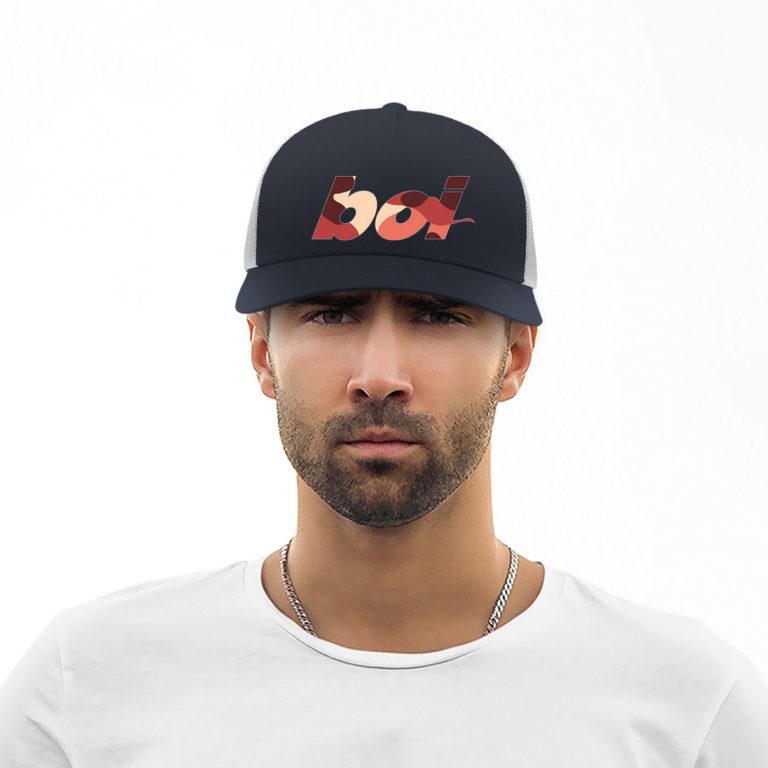 unisex rapper graphic cap Boi
