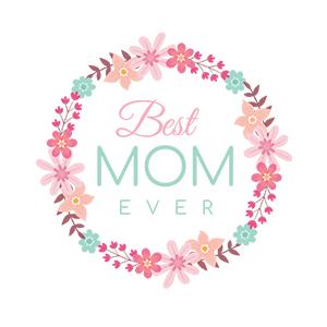 Graphic design for women apron Best mom