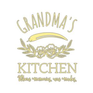 Graphic design for women apron Grandma