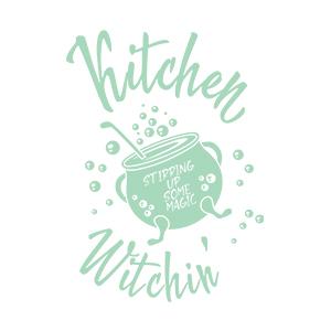 Graphic design for women apron Magic